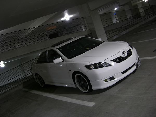 nice Toyota Tuning Blog: 2009 Toyota Camry White on White Toyota 2017 Check more at http://carsboard.pro/2017/2016/12/17/toyota-tuning-blog-2009-toyota-camry-white-on-white-toyota-2017/