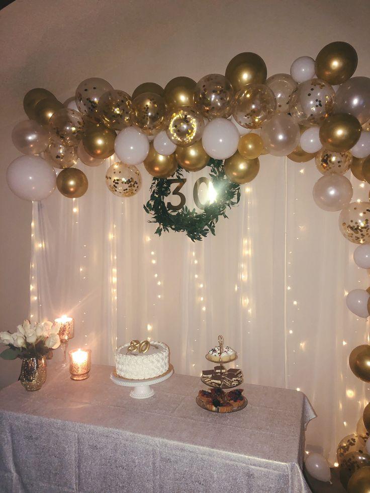 30th birthday | 50th wedding anniversary decorations ...