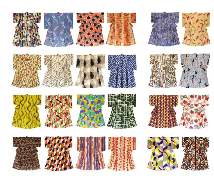 Haruko Watanabe Mid-Century kimono collection. Frankie Magazine Jul-Aug-12