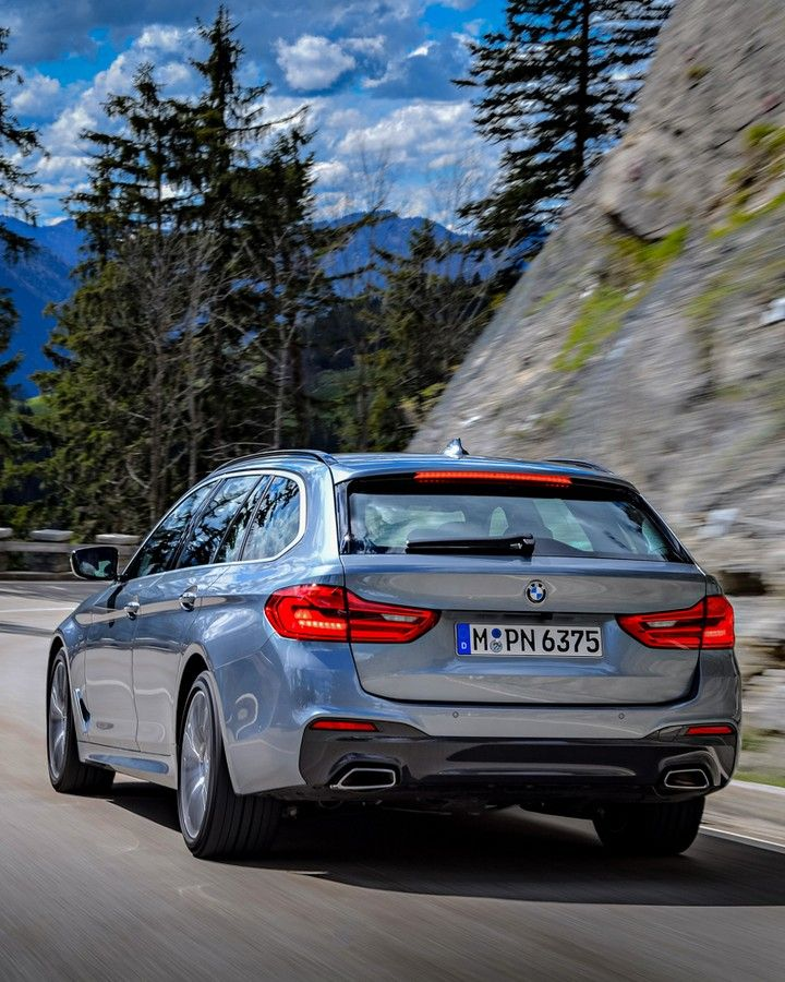 Bmw G31 5 Series Touring In Bluestone Metallic Bmw