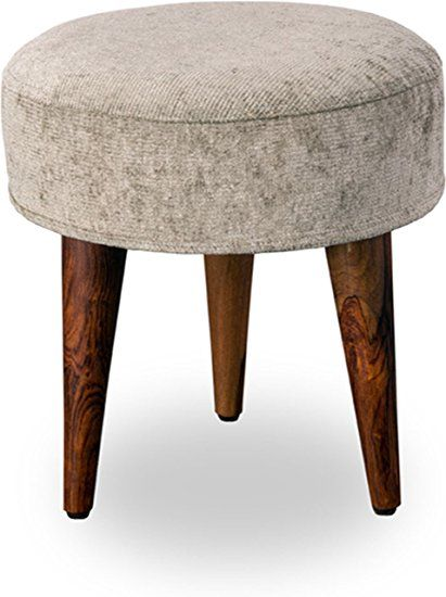 Joypop Pluto Pouffe (Country Life Finish, Color SILVER)