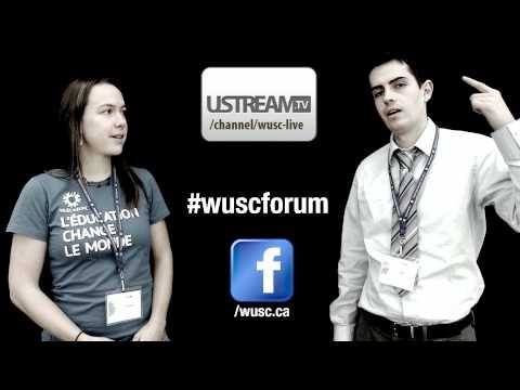 Introductory video for the WUSC 2011 Forum that promotes how to follow the happenings online.
