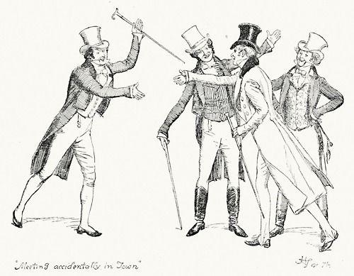 22 best Original signed illustrations for Jane Austen's