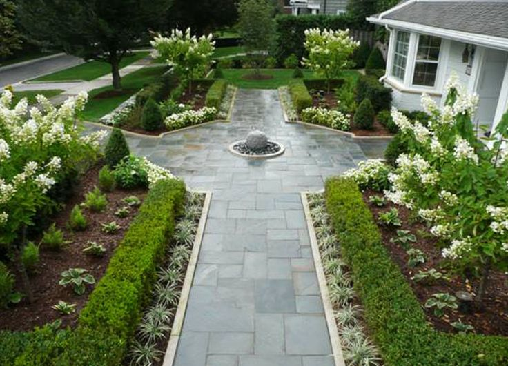 Living A Beautiful Life ~ Paver Walkway Brilliant Decoration With Crushed  Stone With White Flowers And Plants With Polished Stone Paver With Cicular  Stone ...