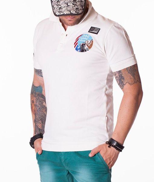 Dsquared Tricouri Polo - Falcon tricou polo alb