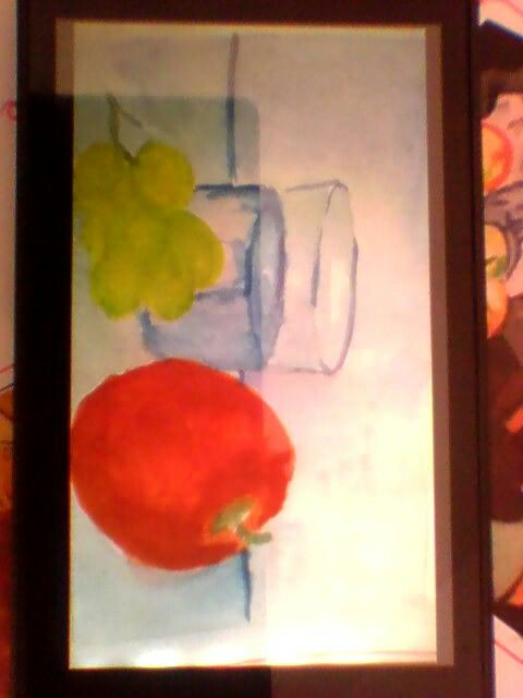 Watercolour still life (simple)