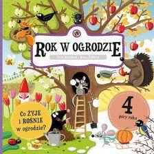 Podręcznik szkolny Rok w ogrodzie - zdjęcie 1
