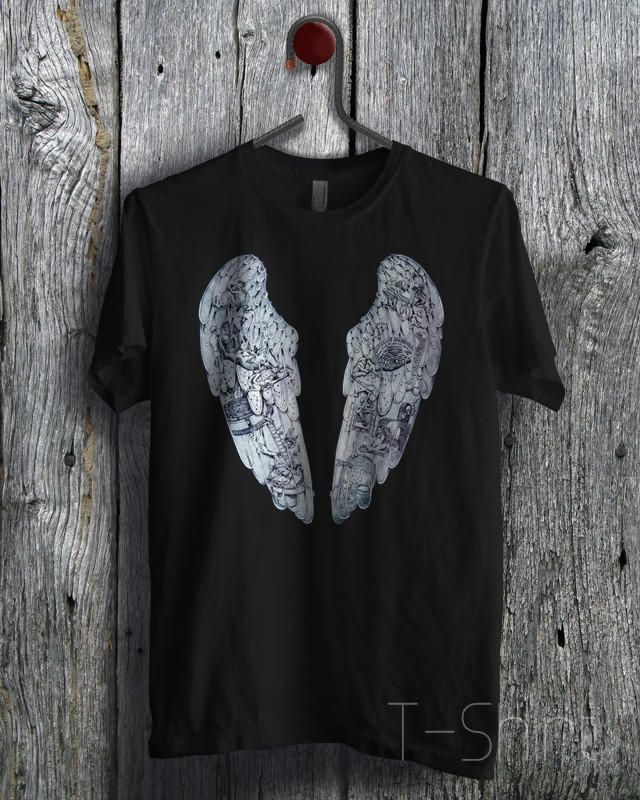 Coldplay Ghost Stories Album - F21 Unisex T- Shirt For Man And Woman / T-Shirt / Custom T-Shirt from forcrush.com.