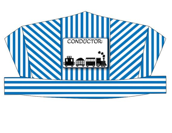 conductor hat template - pinterest the world s catalog of ideas
