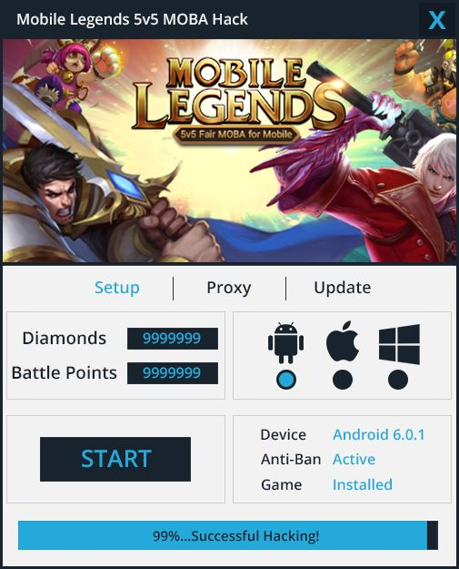 Here is what you searched - Mobile Legends Hack – Diamonds Generator. The 2017 version of Mobile Legends Hack – Diamonds Generator finally working.