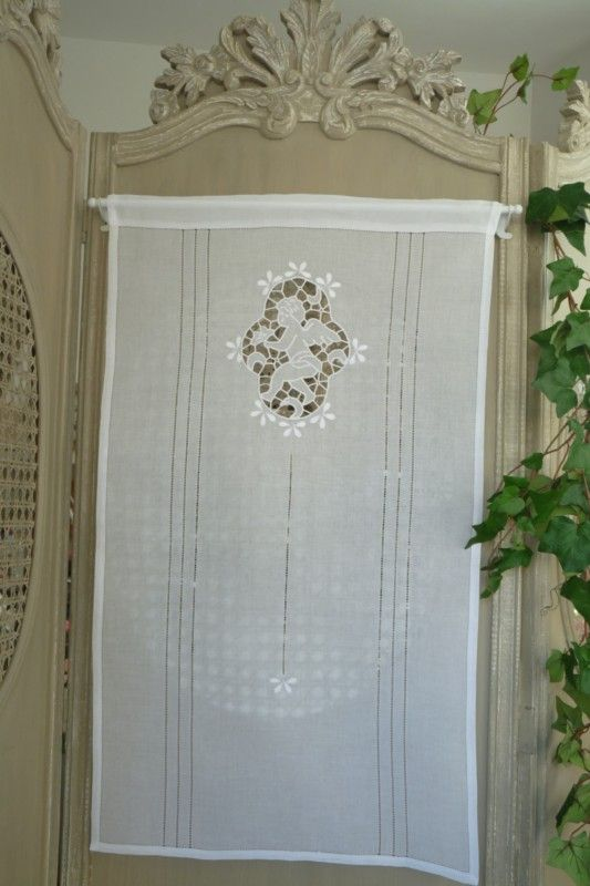 460 best images about linen curtains on pinterest window treatments linens - Dressing pret a poser ...