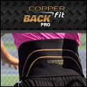 Copper Fit Back Pro Compression Belt for back support!  #backsupport