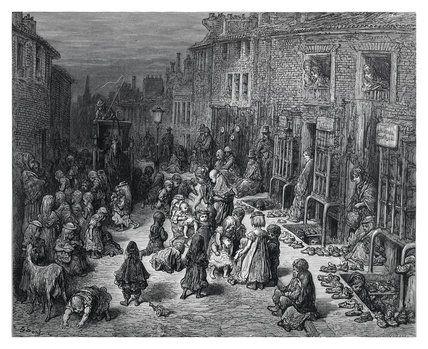 Gustave Dore - London a pilgramage