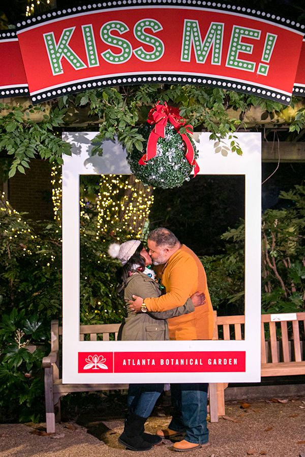 Memories Are The Best Gift During The Holiday Season Make Yours At Garden Lights Holiday Nigh Christmas Tree Farm Atlanta Botanical Garden Creative Christmas