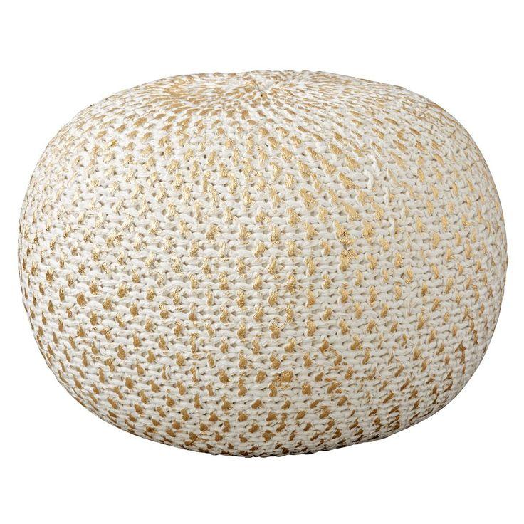 25 best gold pouf ideas on pinterest. Black Bedroom Furniture Sets. Home Design Ideas