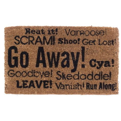 Coco Mats N More Go Away Synonyms Doormat