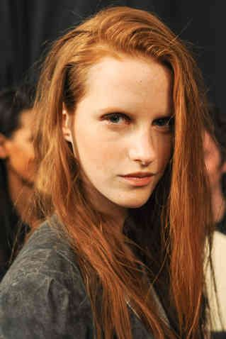 Why you should ask for 'pumpkin spice' next time you take a trip to the hairdressers- http://lifestyle.one/grazia/hair-beauty/hair/red-hair-shades-hairstyles-ideas-celebrities/
