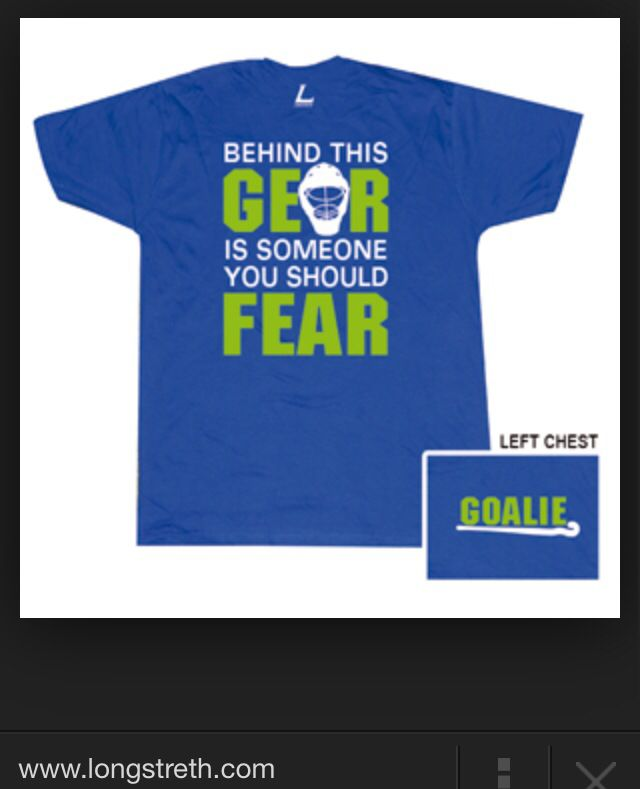 Field hockey goalie shirt Someone please buy this for me!
