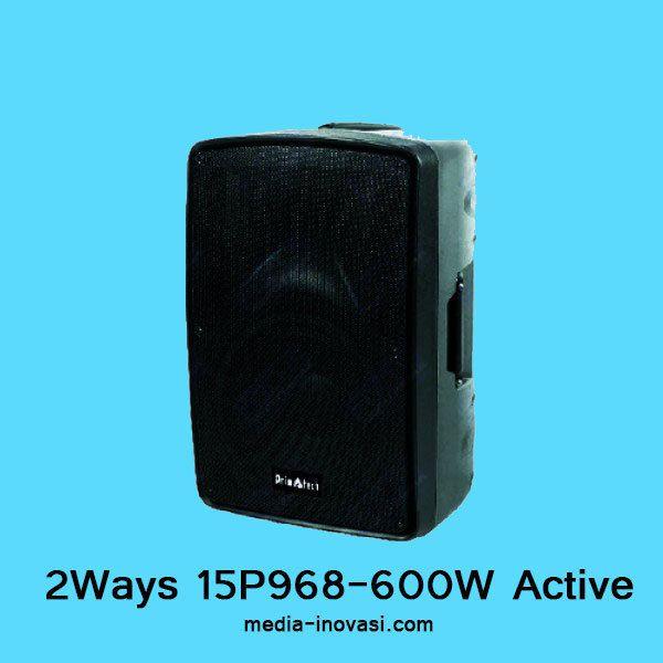 Active Speaker 2WAY 15P968-600W Max Power 1800 w. Untuk info lebih lanjut melalui hotline : 081 805 812 994. Ada harga spesial menanti Anda #meja #kursi #lemari #computer #kantor #peralatankantor #mediainovasisemarang