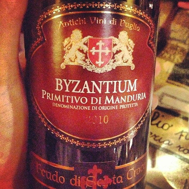 DOP 2010, Primitivo di Manduria Byzantium