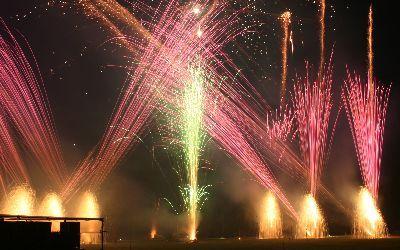 Stanford Hall - Blitz Fireworks