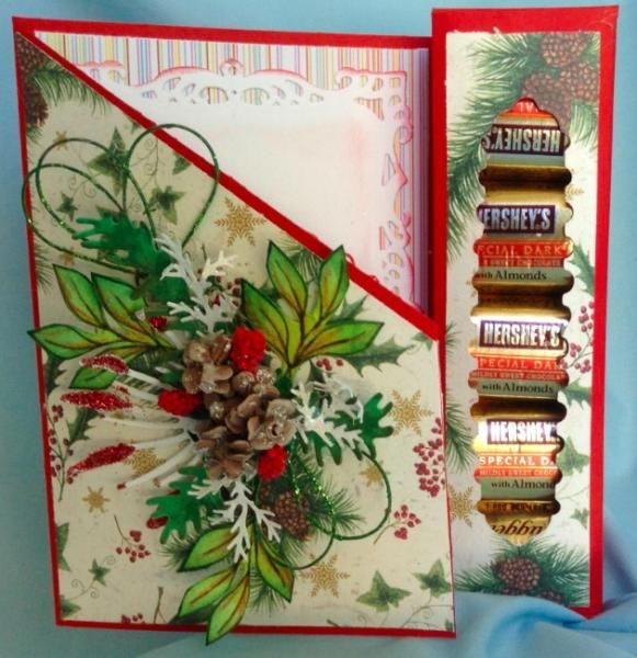 30 best treat box cards images on pinterest cookie box first aid christmas treat box card m4hsunfo