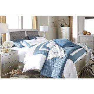 Shop For Signature Design By Ashley Olivet Silver Bed Get Free Shipping At Overstock Furniture Outletonline
