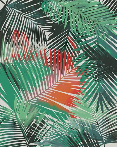Would be cool to make some patterns out of tropical leafs/flowers that we find - Yolanda Fronda