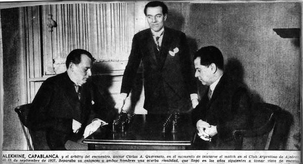 Great Duels in the History of Chess: Alekhine vs Capablanca