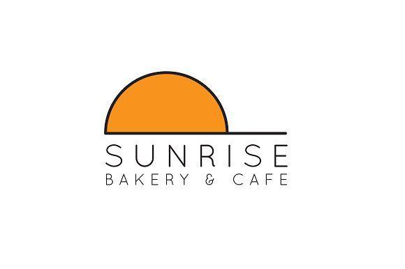 Minimalist Sunrise Logo @creativework247