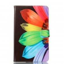 Sunflowers Ultrathin Luxury Genuine Leather Case for Samsung Tab E 8.0 T377 T375 T377V SM-T377 Tablet PC Cover Case