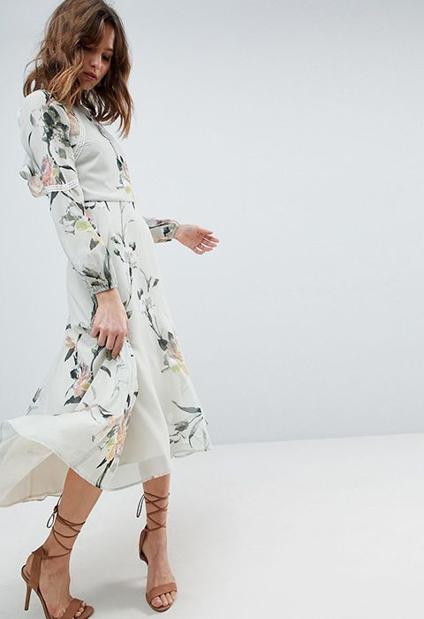 eeed95768633 Wedding-guest dressing: it's a tricky one. You want to fit in with the  formal vibe, but you also want to feel like yourself. So, like the groom's  aunt ...