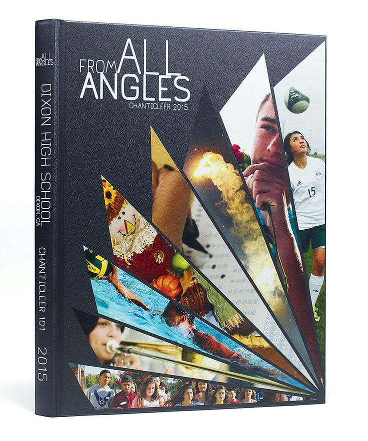 Dixon High School (Dixon, CA) | 2015 Yearbook Cover | Theme: From All Angles…