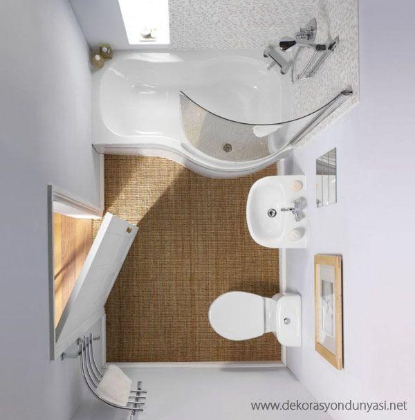 küçük banyo dekorasyon modelleri
