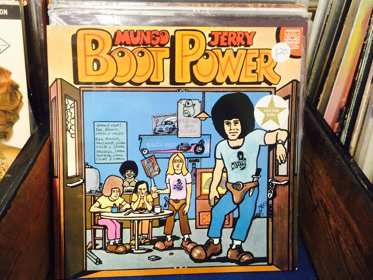 vintage/retro vinyl/LP Mungo Jerry, Boot Power $20.  Our Facebook page https://www.facebook.com/Whatever-at-Willunga-118129198383581/timeline/