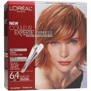My Color L Oreal Easy Color Light Golden Copper Brown