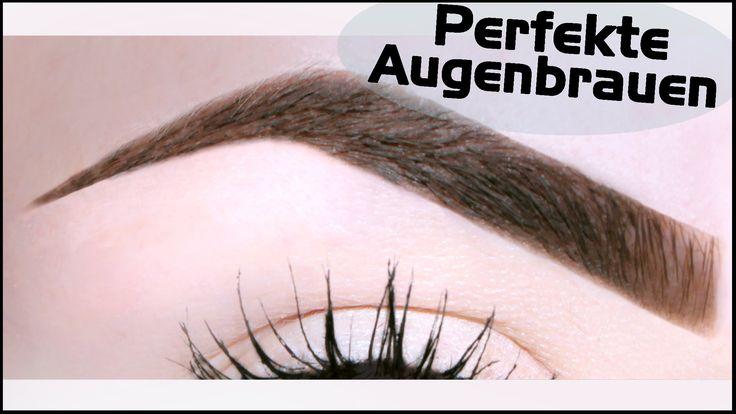 """In diesem """"Perfekte Augenbrauen"""" Video zeige ich euch meine Augenbrauen…"""