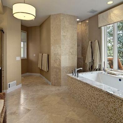 13 best images about doorless showers on pinterest walk - Doorless shower designs for small bathrooms ...