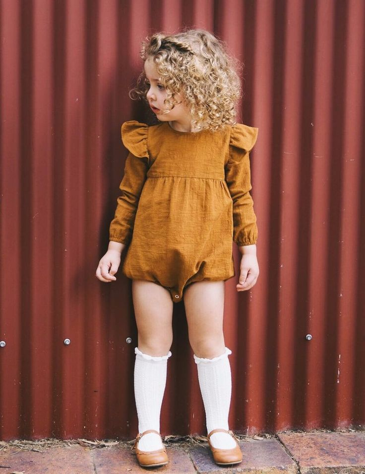 Willow Romper - Rusty