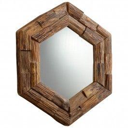 Hex Chip Mirror