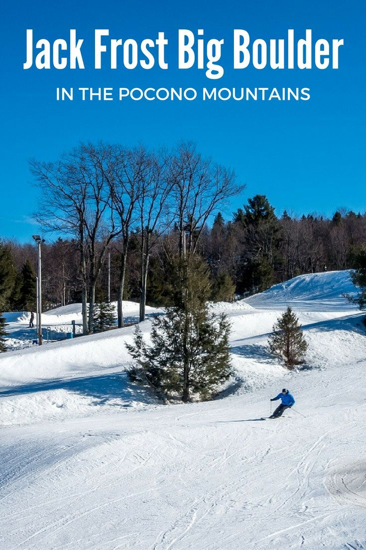 Jack Frost Big Boulder is one of the premier ski resorts in the Pocono Mountains of Pennsylvania.