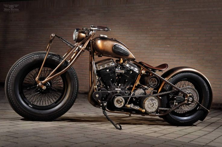 1948 Panhead FL48 by Abnormal Cycles Just fucking beautiful