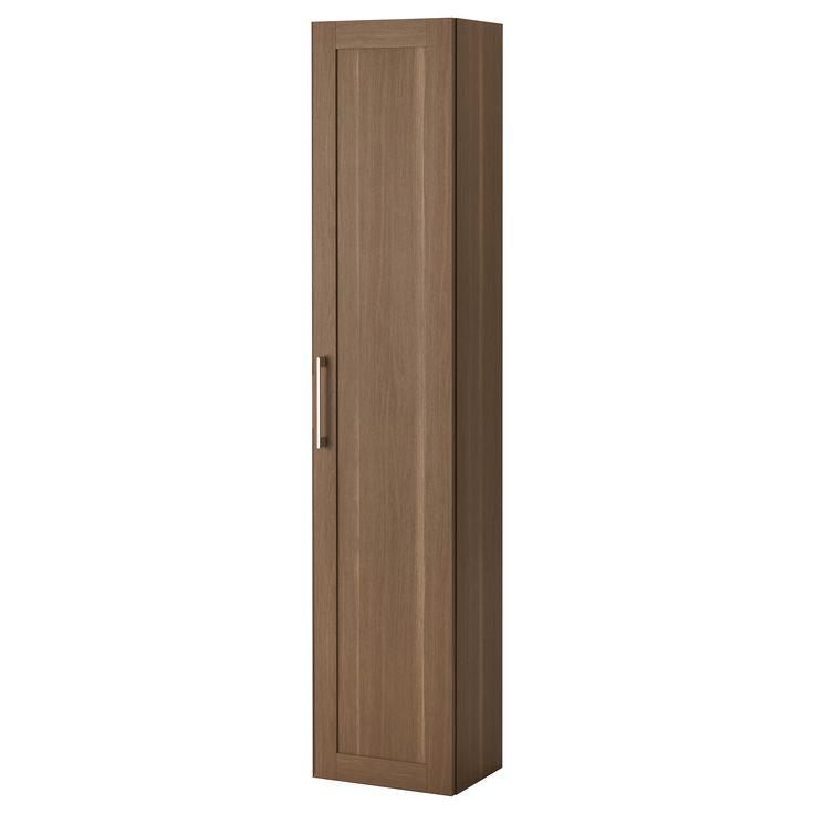 IKEA   GODMORGON, Hochschrank, Nussbaumnachbildung, , Inklusive 10 Jahre  Garantie. Mehr Darüber In Der Garantiebroschüre.Mit Versetzbaren Böden; Der  Abstand