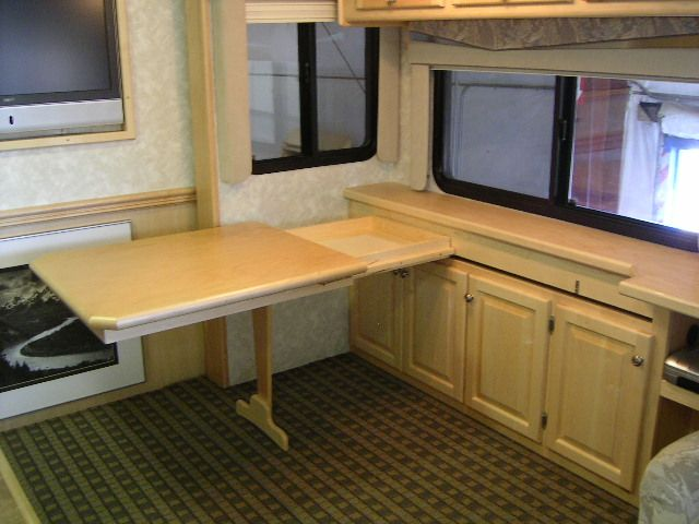 24 Best Rv Desk Images On Pinterest Campers Camping And