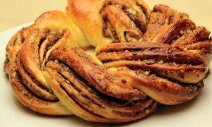 Nutellalı Örgü Çörek