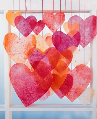 wax hearts vday craft martha stewart