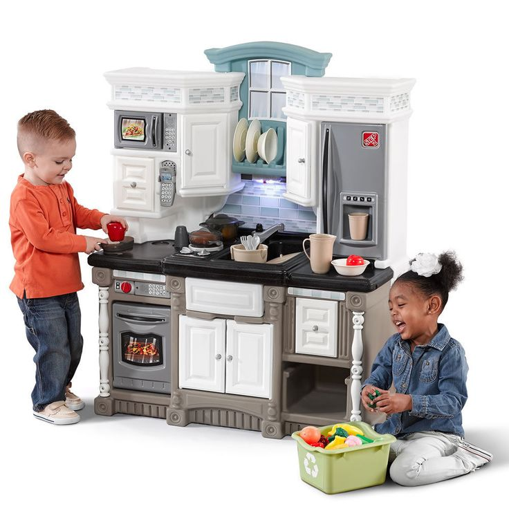 Step2 Lifestyle Dream Kitchen Play Food Pretend Toddler Toy Play Cooking