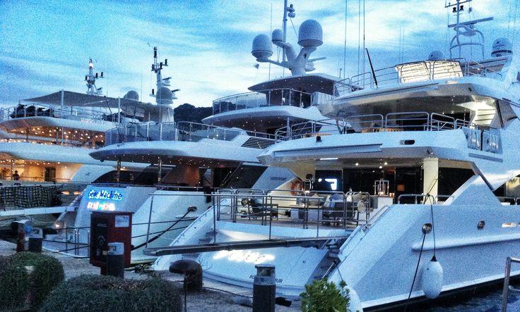 Yachts yachts yachts....