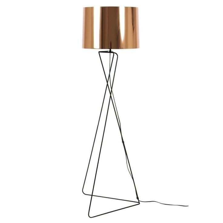 lampadaire cuivre