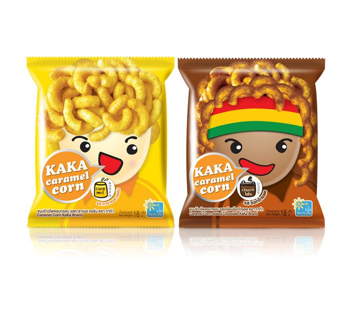 Prompt Design, headquartered in Bangkok, redesigns an iconic Thia brand: KAKA Caramel Corn